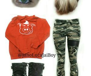 boots, bun, and fashion image