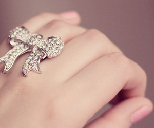 bow, ring, and summer image