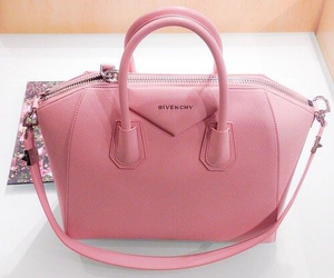 bag, pink, and fashion image