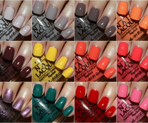colorful, nails, and nail polish image
