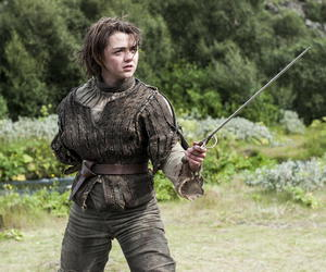 game of thrones, arya stark, and maisie williams image
