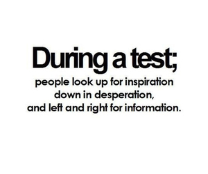 test, quote, and school image