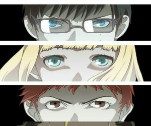 blue exorcist, eyes, and wallpaper image