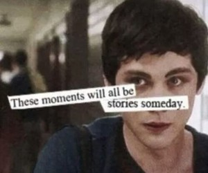 logan lerman, story, and moment image