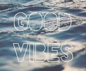 ocean and good vibes image