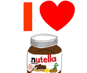nutella, food, and galaxy image