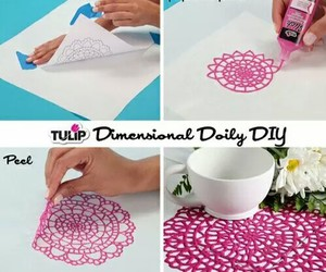 diy and pink image