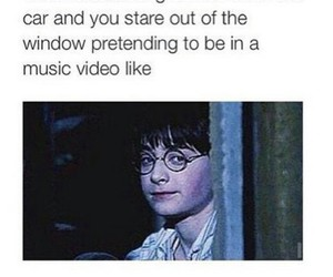 funny, harry potter, and music image