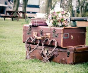 books, travel, and vintage image