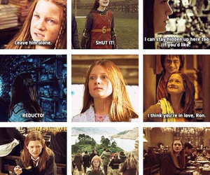 ginny, harry potter, and ginny weasley image