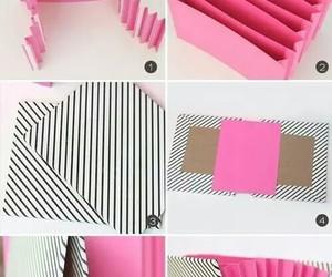 diy, pink, and folder image