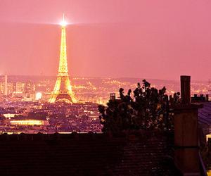 paris, light, and city image