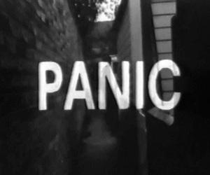 panic, grunge, and dark image