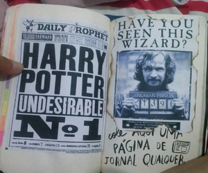 wreck this journal, harry potter, and sirius black image