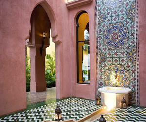 interieur and maroccan image