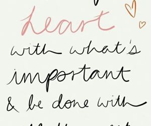 quotes, heart, and important image