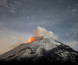 volcano, mexico, and photography image