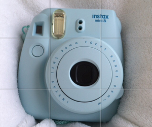 blue, instax, and mini8 image