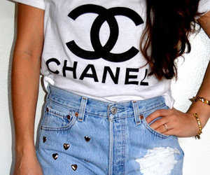 chanel, short, and remera image