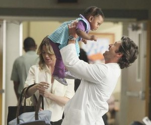 grey, meredith grey, and derek shepherd image