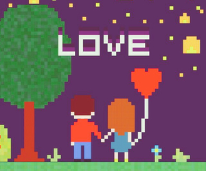 love, heart, and wallpaper image