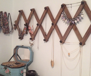 diy, hanger, and jewelry image