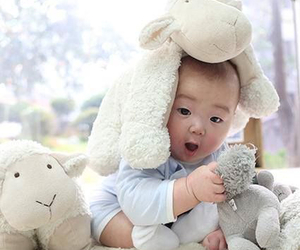 song minguk, baby, and cute image
