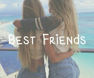abrazo, best friends, and girls image