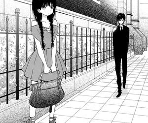 manga, taiyou no ie, and couple image