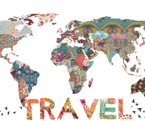 girly, hipster, and travel image