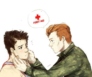 art, shameless, and ian gallagher image