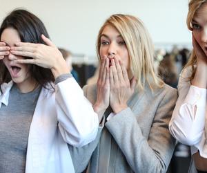 Karlie Kloss, model, and kendall jenner image