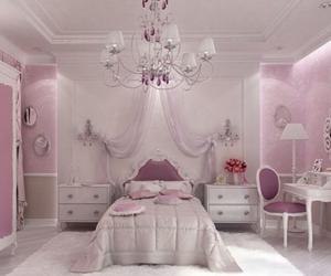 pink bedrooms, girls bedrooms, and luxe bedrooms image