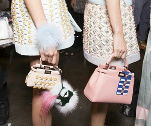 fashion, bag, and fendi image