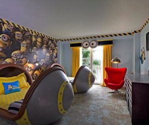 minions and room image