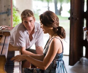 miley cyrus, the last song, and piano image