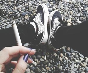 alternative, black, and cigarette image