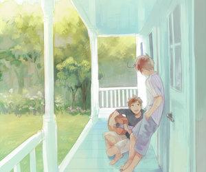 anime, boy, and hetalia image