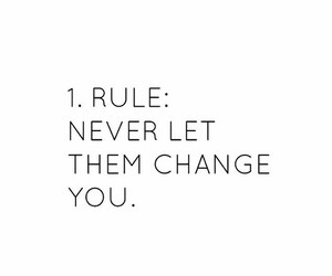 quote, rules, and change image