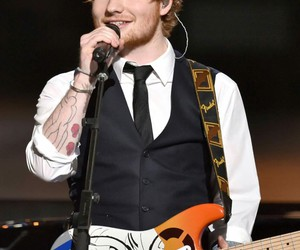 ed sheeran and concert image