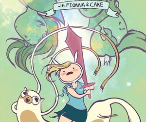 adventure time and cake image