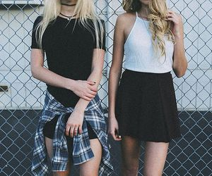 blonde and grunge image