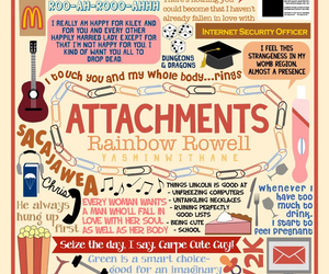 attachment, book, and rainbow rowell image