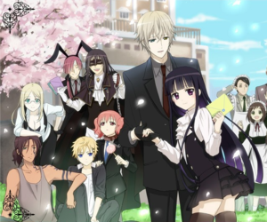 anime and inu x boku ss image