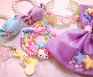 accesories, kawaii, and hello kitty image