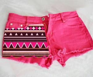moda, pink, and short image