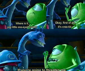monsters inc, funny, and pixar image