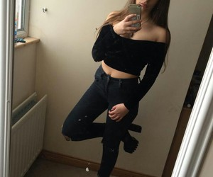 girls, instagram, and outfit image