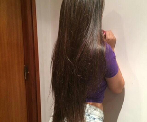 cabelo, girls, and hair image