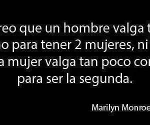 Marilyn Monroe, frases, and woman image